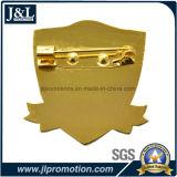 Die Struck Bronze Lapel Pin Transparente Soft Enamel