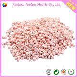 Розовое Masterbatch с пластичным сырьем