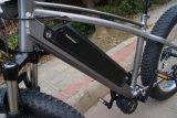 """26X4 """" 중앙 드라이브 숨겨지은 건전지를 가진 전기 뚱뚱한 타이어 자전거"""