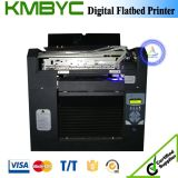 Máquina de impressão de pedra de múltiplos propósitos Flatbed de Digitas do tamanho do baixo custo A3