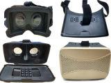 El rectángulo más nuevo de Vr 3D de la realidad virtual 3D con los vidrios en Smartphone