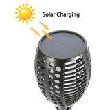 LED 정원 뒤뜰 자동 온/오프 장식적인 토치 빛을%s 방수 태양 경경 LED 토치를 점화하는 태양 토치 빛 프레임