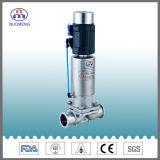 Válvula de diafragma eléctrica inteligente de la abrazadera del acero inoxidable del posicionador de la válvula