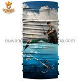 Écran protecteur de face sans joint multifonctionnel estampé par logo fait sur commande promotionnel de pêche