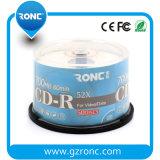 CD-R em branco Printable 700MB 80min 52X do Inkjet branco barato por atacado