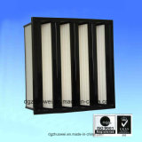 Ventilaton Mini Pleat Compact V Bank Filtre HEPA