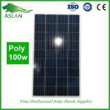 Poli comitato solare di alta efficienza 100W con il buon prezzo