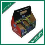 Caixa de embalagem do vinho de 6 frascos (FP7006)