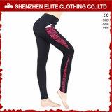 Guêtres faites sur commande de vêtement de gymnastique de mode de qualité avec les poches (ELTLI-134)