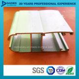 Profil personnalisé de l'aluminium 6063 pour la porte de guichet avec la couche en bronze anodisée de poudre