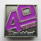 Pin antigo magnético do Lapel do ouro