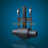 Due-Eliminare l'inceppo le valvole a sfera per l'accessorio per tubi del PE
