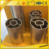Tubo de aluminio anodizado 6000 series con el perfil de aluminio
