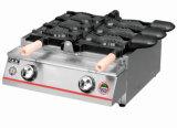 스테인리스 도매를 위한 상업적인 가스 물고기 케이크 기계