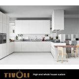 Мебель кухни древесины шкафа Veneer дуба MDF естественная (AP141)