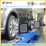 車の点検機械自動車輪のアライナは4つのタイヤの調整用具を使用した