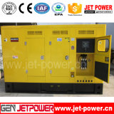 100kw Soundproof Electrical Diesel Generator met Vervangstukken Circuit Breaker