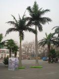 Palmera sintetizada de rey Coconut para la decoración del jardín