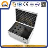 Mini cas en aluminium dur de vol pour le cas musical (HF-2213)