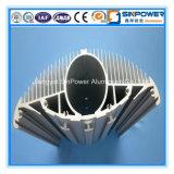 Aluminio modificado para requisitos particulares del disipador de calor por sacado 6063 T5/T6
