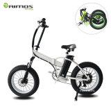 vélo électrique de grand pneu de roue du magnétique 20inch gros, vélo électrique de neige de bâti d'alliage à vendre