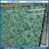 O preço barato moderou horizontalmente arte decorativa a fábrica manchada do vidro da cor