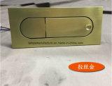 Lámpara de pared de cobre amarillo del cepillo LED con el socket de Adjustble para el mercado de los E.E.U.U.