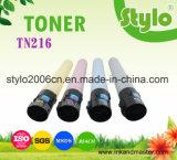 Cartucho de toner del color de la copiadora Tn216 para Bizhub C220/280/360