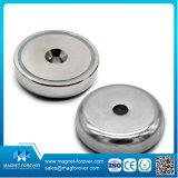 Сильный магнит бака чашки установки неодимия изготовления магнита усилия тяги