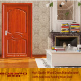 Нутряная одиночная твердая деревянная дверь (GSP6-007)