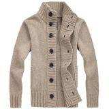 고품질 겨울 두꺼운 대 고리 Ment의 스웨터 또는 뜨개질을 하는 외투