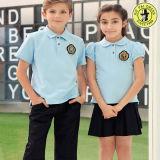 De Lage school van de T-shirt van het polo Eenvormig voor de Zomer