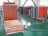 Bobina de alumínio da aleta da câmara de ar de cobre para condicionadores de ar