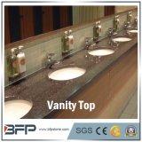 Черные верхние части тщеты ванной комнаты Granite&Marble с раковиной