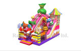 Sweety Candy Inflatable Children Bouncy Castle Slide for Dirty