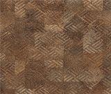 Retro gesponnenes Muster-Rohpapier für Bodenbelag und Möbel