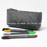Rodar para arriba sentía la bolsa de la pluma del caso de lápiz del bolso del lápiz