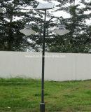 二重アーム4m街灯柱の太陽庭ライト