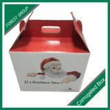 Коробка коробки формы щипца Corrugated упаковывая свежую сухую коробку плодоовощ