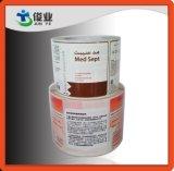 Étiquettes cosmétiques fabriquées à l'épreuve de l'eau et à l'alcool