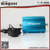 Impulsionador móvel ajustável do sinal do ganho de CDMA980 850MHz 2g para o escritório