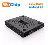 Ax5 Doos van 6.0 TV van Amlogic S905X 1GB 8GB de Androïde
