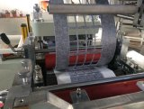 Máquina que corta con tintas adhesiva auto de la base plana de la escritura de la etiqueta de la espuma con introducir del rodillo