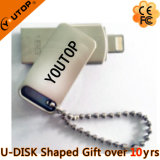 Promocional Gift OTG USB Flash Drives USB3.0 para iPhone Android