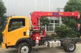 Sinotruk 5t 소형 트럭은 3t 기중기 가격으로 거치했다