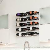 Le spine del vino personalizzano le cremagliere di visualizzazione del vino dei kit della cremagliera del vino di Pin