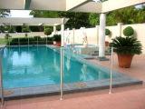 Vidrio Tempered de la cerca de la piscina con el estilo de Semiframe