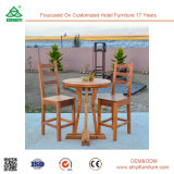 Muebles al aire libre Jardín de madera Accent Chair Outdoor Chair