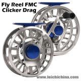 Clique chinês do CNC e carretel da pesca de mosca do retentor
