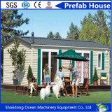 Casa modular del envase de la casa de la casa móvil prefabricada de encargo de la casa
